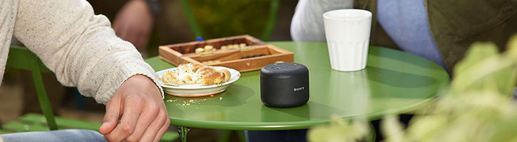 Official Sony BSP10 Portable Speaker with NFC & Wireless Charging