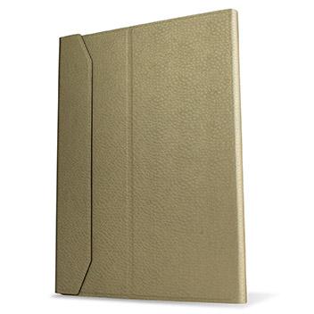 Ultra-Thin Alumnium Keyboard Folding iPad Pro Case - White