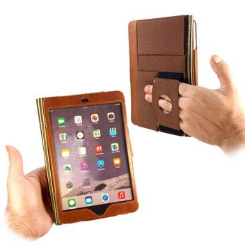 Tuff-Luv Alston Craig Vintage Leather iPad Mini 4 Case - Brown