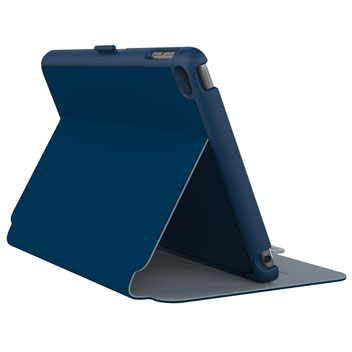 Housse iPad Mini 4 Speck StyleFolio – Bleue / Gris
