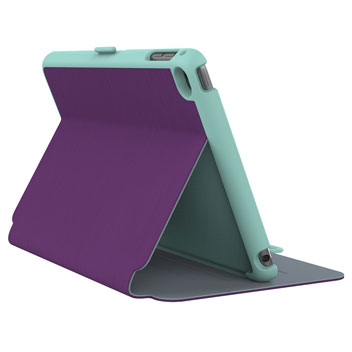 Speck StyleFolio iPad Mini 4 Case - Purple / Green