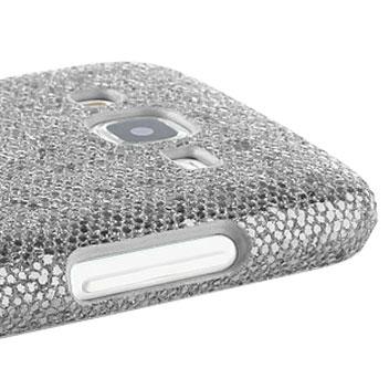Olixar Samsung Galaxy J5 Glitter Case - Silver