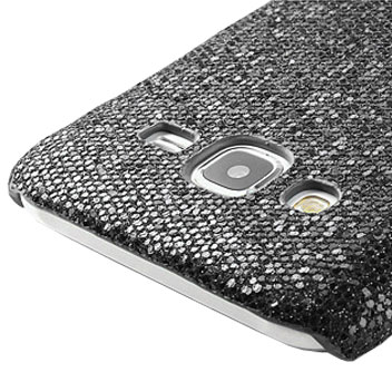 Olixar Samsung Galaxy J5 Glitter Case - Black