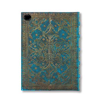 eXchange Maya Blue iPad Air 2 Cover Case - Blue / Grey