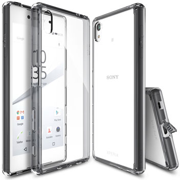 Rearth Ringke Fusion Sony Xperia Z5 Case - Smoke Black