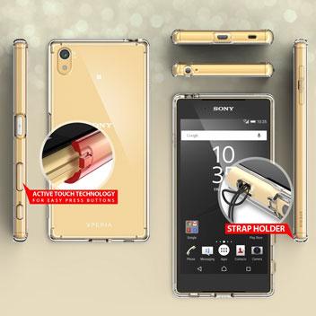 Rearth Ringke Fusion Sony Xperia Z5 Case - Smoke Black