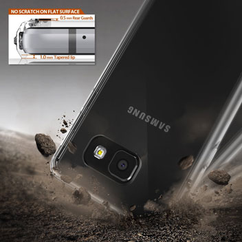 Rearth Ringke Fusion Samsung Galaxy A7 2016 Case - Smoke Black