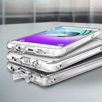 Rearth Ringke Fusion Samsung Galaxy A7 2016 Case - Smoke Black