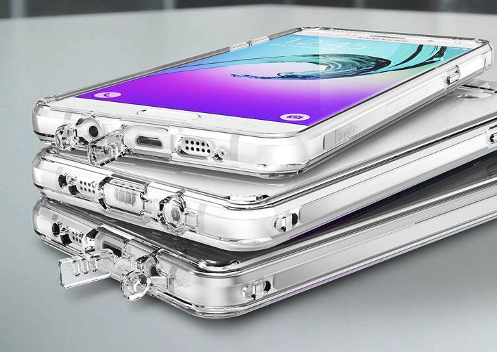 Rearth Ringke Fusion Samsung Galaxy A3 2016 Case - Smoke Black