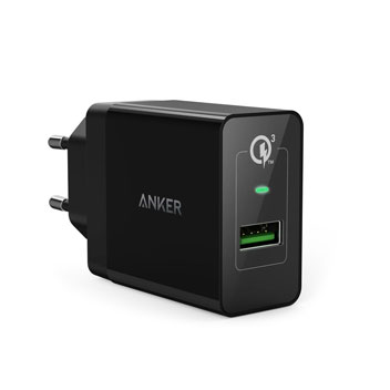 Anker PowerPort+ 1 Quick Charge 3.0 USB US Wall Charger