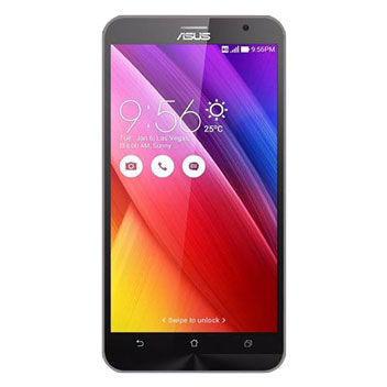Flexishield Asus Zenfone 2 Case - Smoke Black