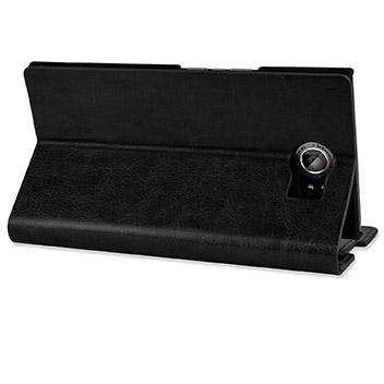 Olixar Leather-Style BlackBerry Priv Wallet Stand Case - Black