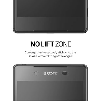 Spigen Steinheil Crystal Sony Xperia Z5 Screen Protector - 3 Pack