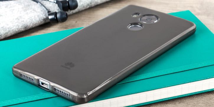 FlexiShield Huawei Mate 8 Gel Case - Smoke Black