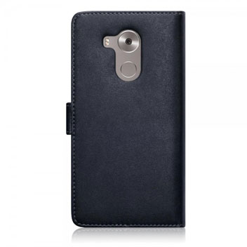 Olixar Leather-Style Huawei Mate S Wallet Case - Black / Tan