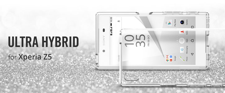Spigen Ultra Hybrid Sony Xperia Z5 Case - Space Crystal