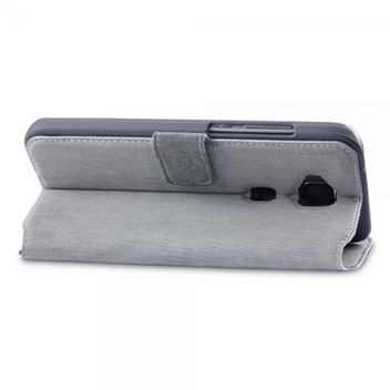 Olixar Low Profile Huawei G8 Wallet Case - Grey