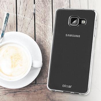 FlexiShield Samsung Galaxy A3 2016 Gel Case - 100% Clear