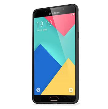 FlexiShield Samsung Galaxy A9 Gel Case - Solid Black