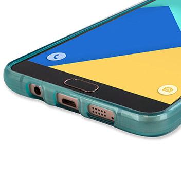 FlexiShield Samsung Galaxy A9 Gel Case - Blue
