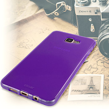 FlexiShield Samsung Galaxy A9 Gel Case - Purple