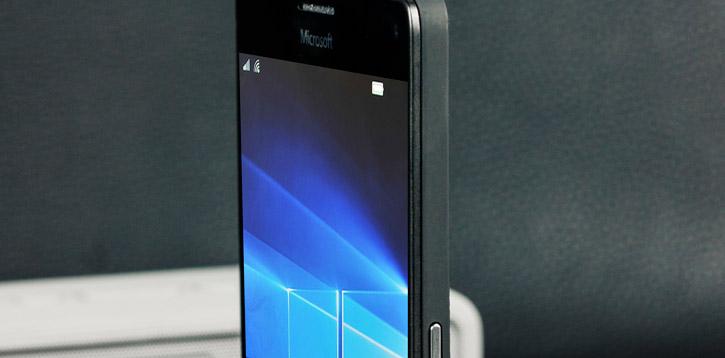 Mozo Microsoft Lumia 950 XL Wireless Charging Back Cover - Black
