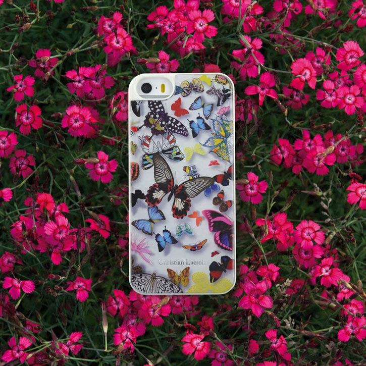 Christian Lacroix Butterfly iPhone 6S / 6 Designer Case - White