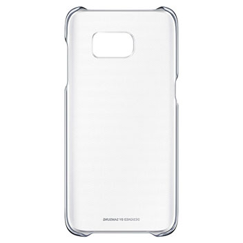 Official Samsung Galaxy S7 Edge Clear Cover Case - Black