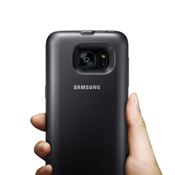 Official Samsung Galaxy S7 Back Pack Battery Case - Black