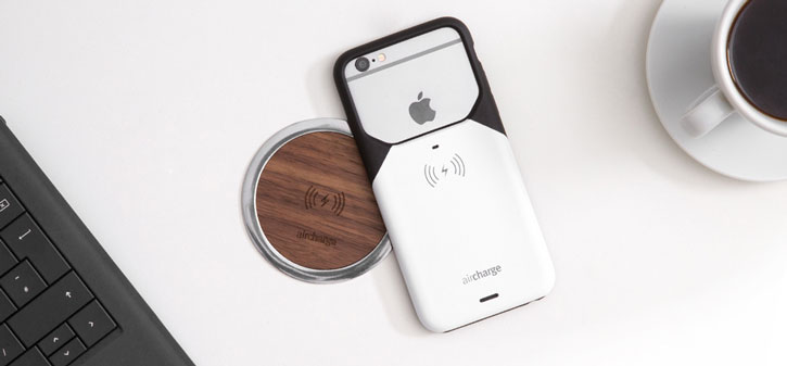 aircharge MFi Qi iPhone 6S Plus / 6 Plus Wireless Charging Case
