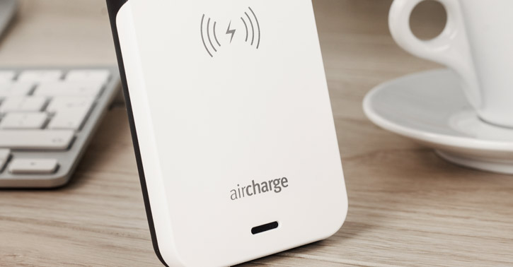 aircharge MFi Qi iPhone 5S 5 Wireless Charging Case White