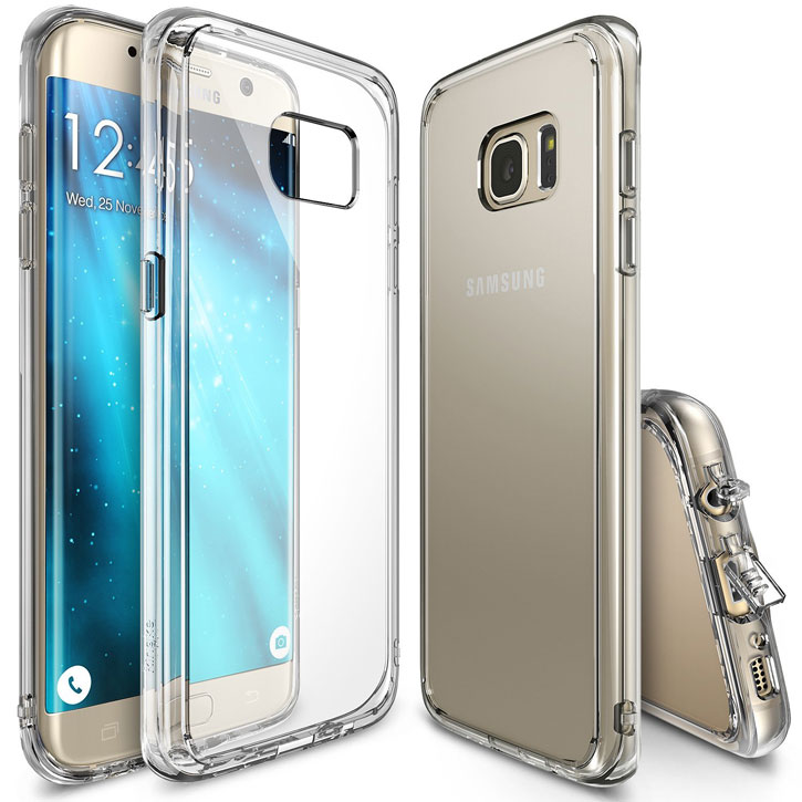 Rearth Ringke Fusion Samsung Galaxy S7 Edge Case - Crystal View