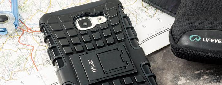 Olixar ArmourDillo Tough Samsung Galaxy A7 2016 Case - Black