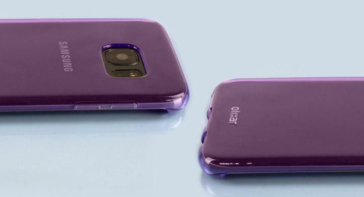 FlexiShield Samsung Galaxy S7 Edge Gel Case - Purple