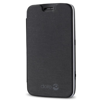 Official Doro Liberto 820 Mini Flip Case - Silver