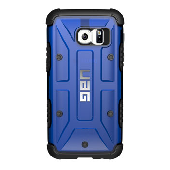 UAG Samsung Galaxy S7 Protective Case - Cobalt - Black