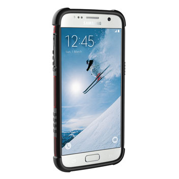 UAG Samsung Galaxy S7 Protective Case - Magma - Black
