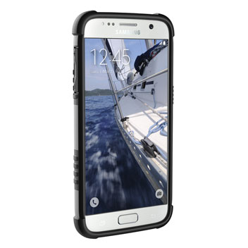 UAG Samsung Galaxy S7 Protective Case - White - Black