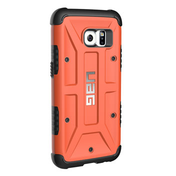 UAG Samsung Galaxy S7 Protective Case - Rust - Black