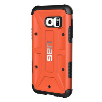 UAG Samsung Galaxy S7 Protective Case - Rust - Black