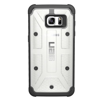 UAG Samsung Galaxy S7 Edge Protective Case - Ice - Black