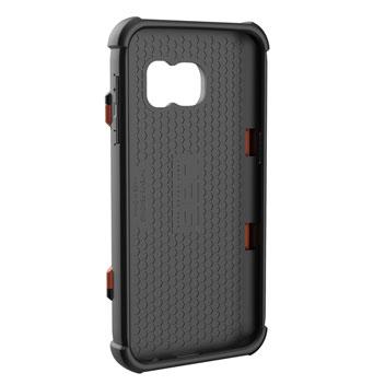 UAG Samsung Galaxy S7 Protective Card Case - Rust - Black