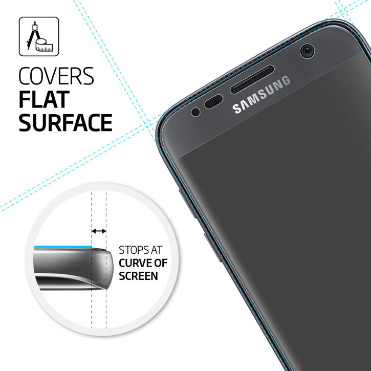 Spigen LCD Galaxy S7 Film Crystal Screen Protector