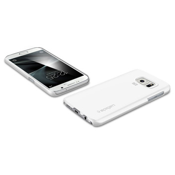 Spigen Thin Fit Samsung Galaxy S7 Case - Shimmery White
