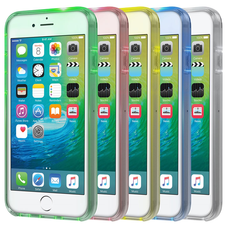 Seidio Luma Multicolour iPhone 6S Plus / 6 Plus Light Up Case - Clear