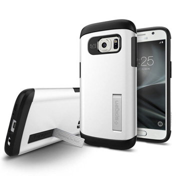 Spigen Slim Armor Samsung Galaxy S7 Case - Shimmery White