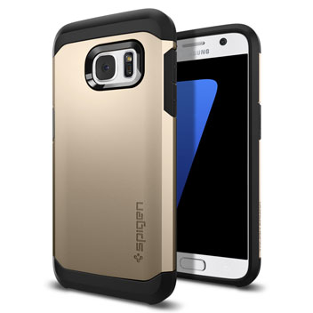 Spigen Tough Armor Samsung Galaxy S7 Case - Gold