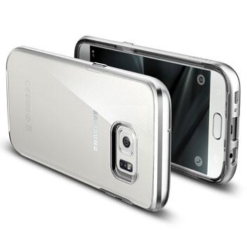 Spigen Neo Hybrid Cyrstal Samsung Galaxy S7 Case - Satin Silver
