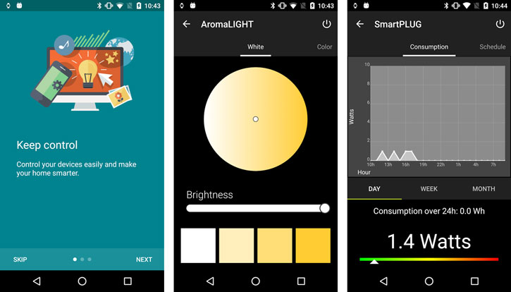 Awox SmartLED Adjustable Smartphone Controlled Bulb - 7W