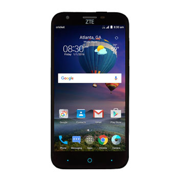 FlexiShield ZTE Grand X3 Case - Smoke Black